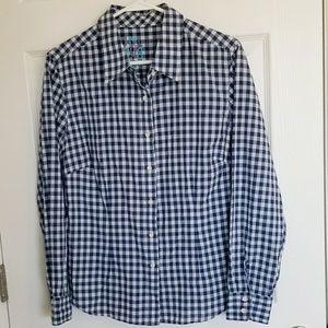 J McLaughlin Gingham Shirt